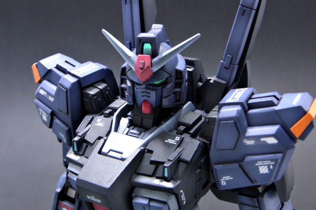 「HGUC ガンダムMk-Ⅱ(REVIVE)ティターンズを工作、全塗装」