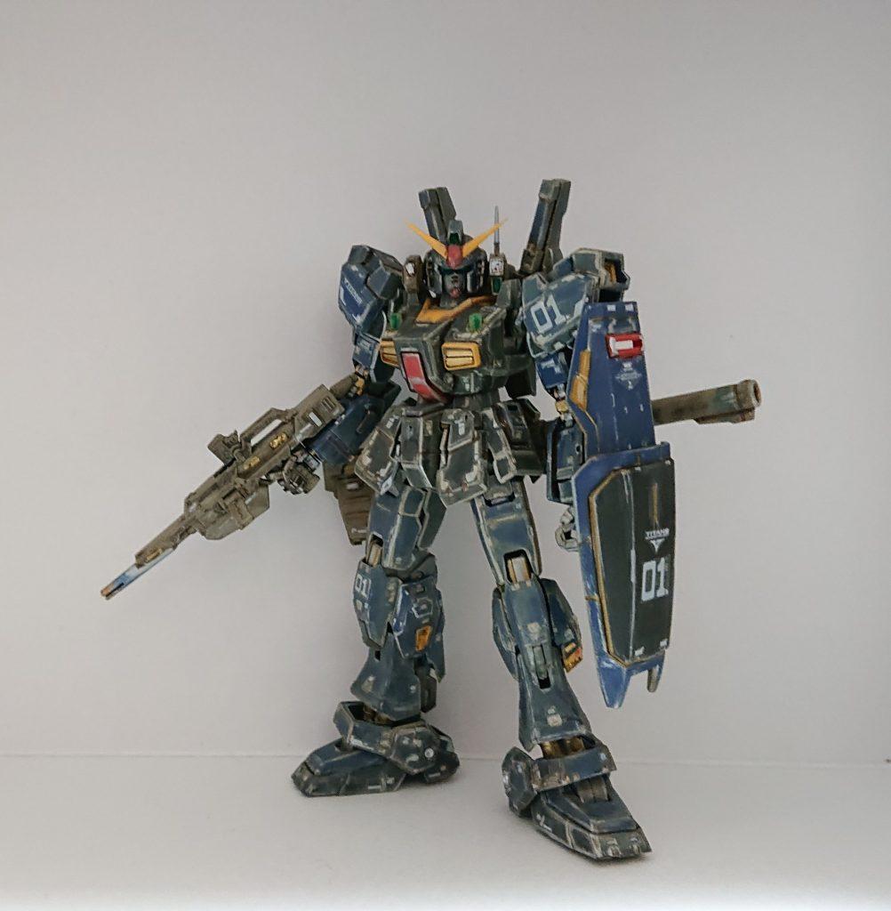 ガンダムMk-Ⅱ1号機 ティターンズ版