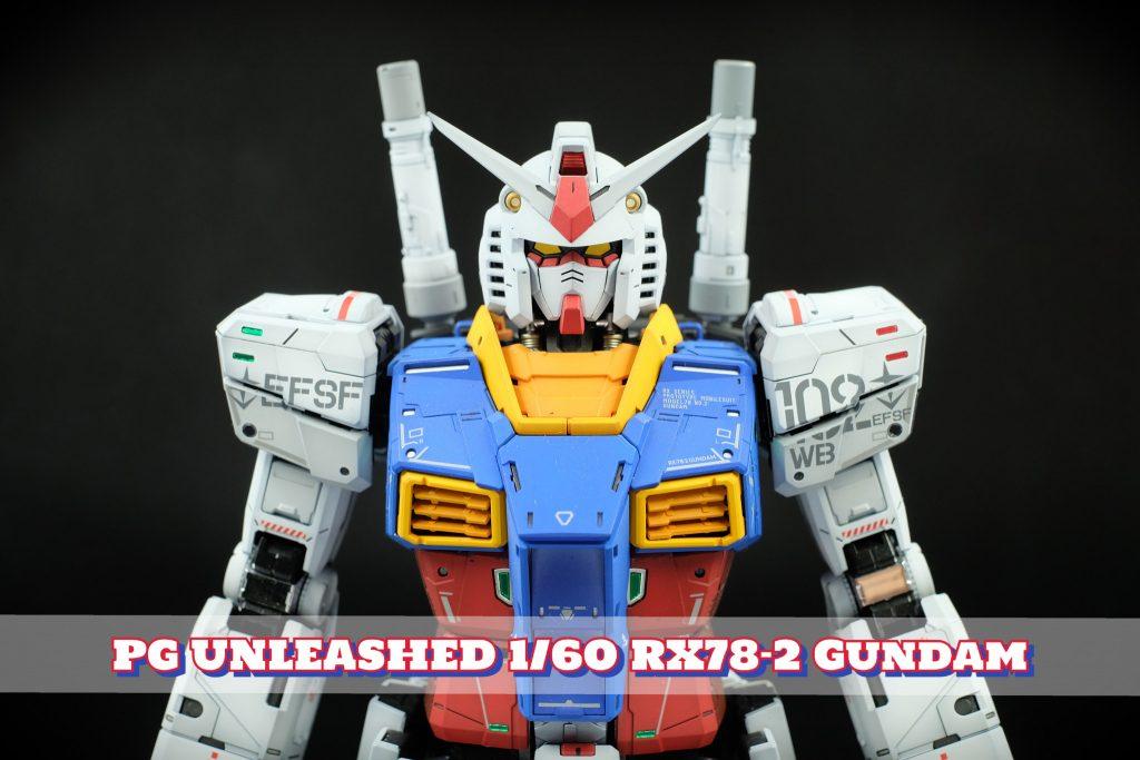 PG UNLEASHED 1/60 RX78-2 Gundam 塗装済完成品