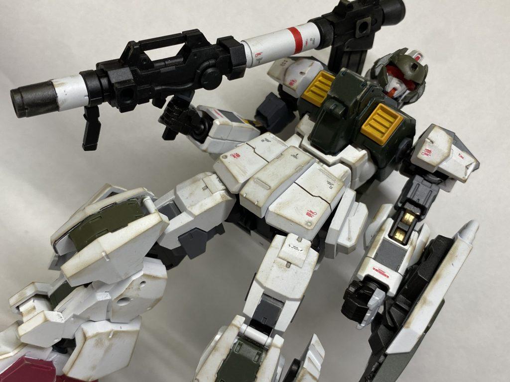 陸戦型ガンダム feat.アルト(陸戦仕様)