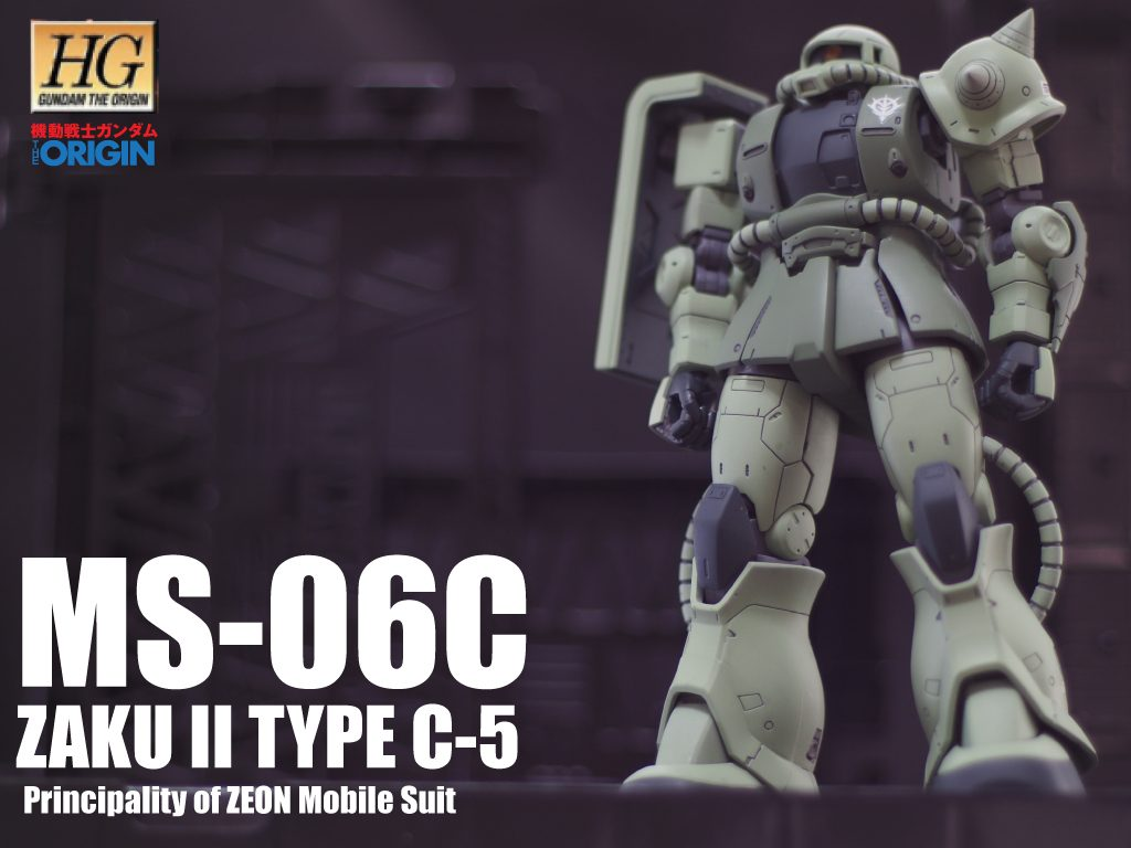 HG 1/144 オリジンザクII C5