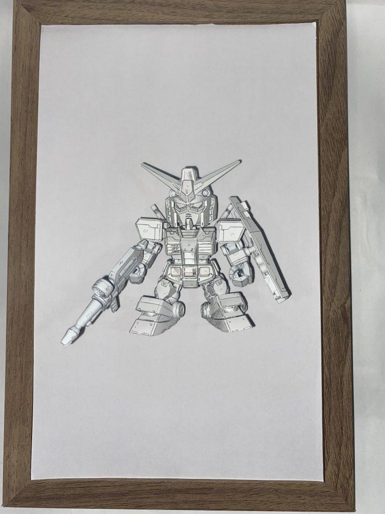 SDCS RX-78ガンダム イラスト風模型