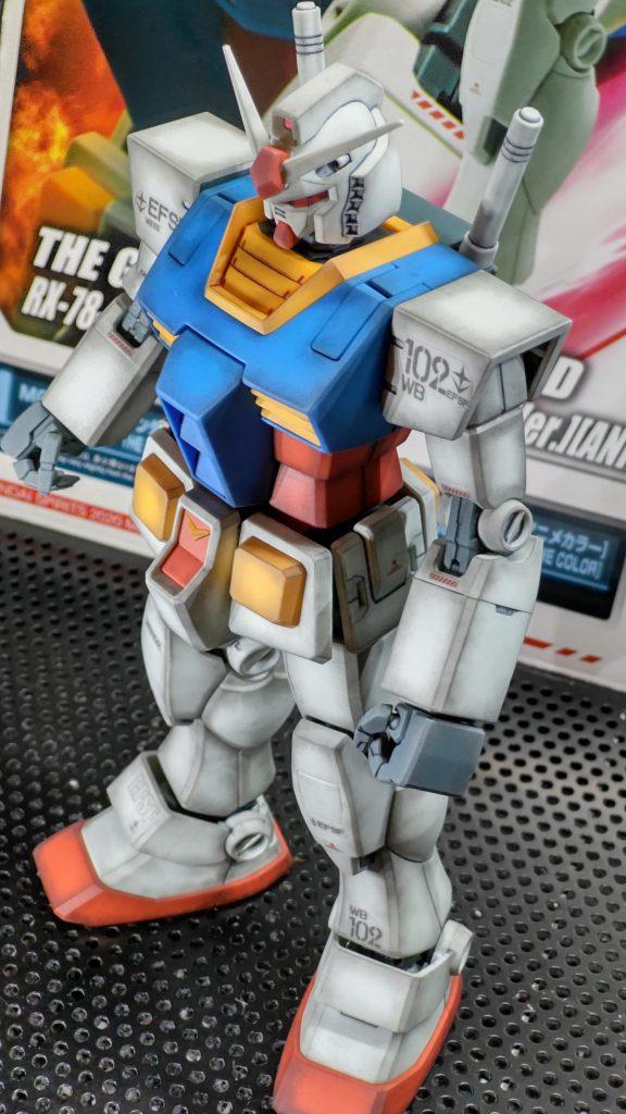 GB限定RX78-2ガンダムパーフェクトガンダムver.アニメカラー