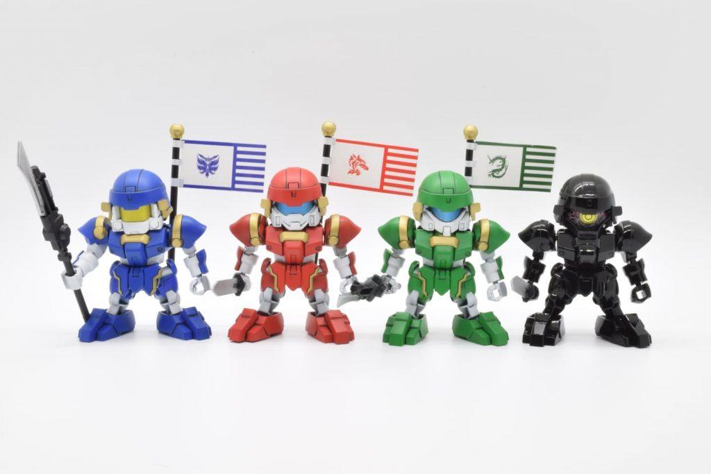 SD三国創傑伝 BUG&部隊兵セット