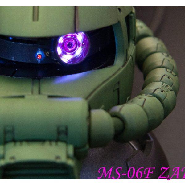 ザクヘッド-LED電気装飾、電気改造