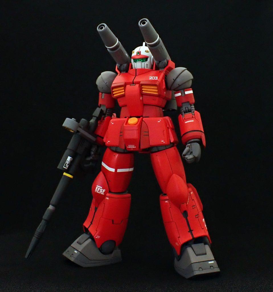 ガンキャノン203号機 フル武装