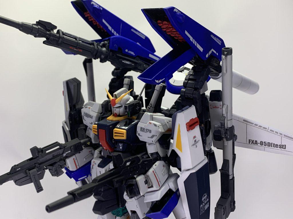 試作型スーパーガンダム(試作型MK-IIディフェンサー)