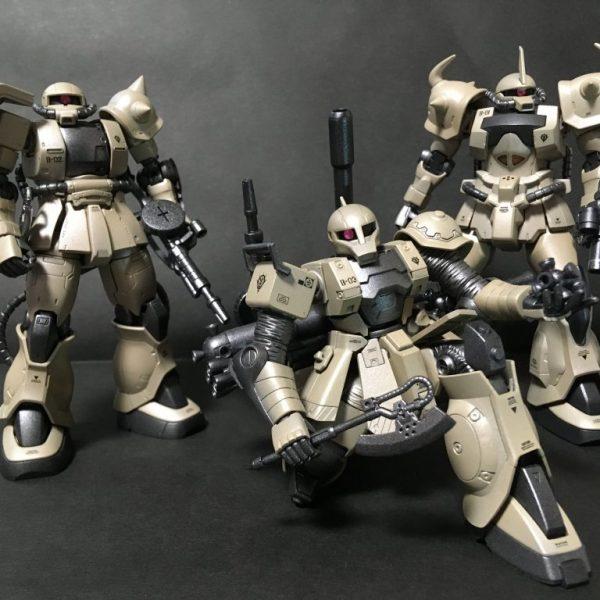 ザクⅠ(砂漠戦部隊)