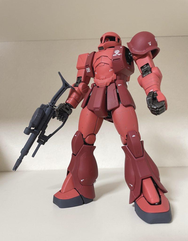 【MG】MS-05 ザクI(シャア・アズナブル機)