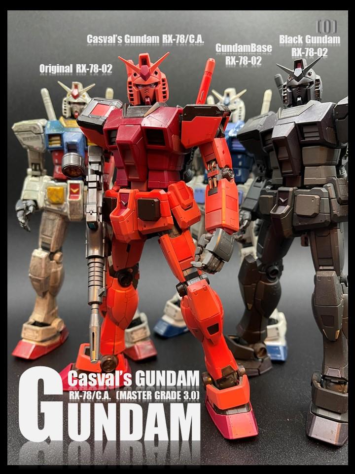 RX-78-2 GUMDAM_Ver3.0 No10 Casval's Gundam