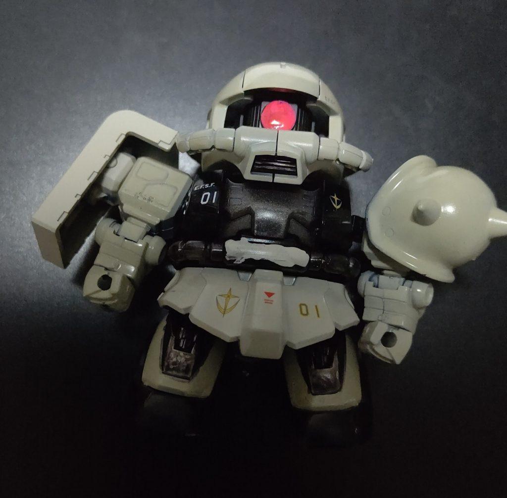 ザクⅡ(連邦軍アグレッサー仕様風)