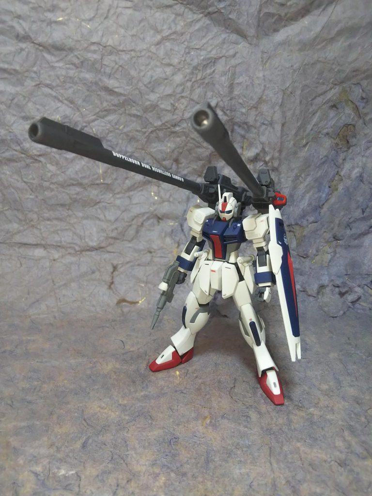 1/144HGダガーL用ドッペルホルン連装無反動砲