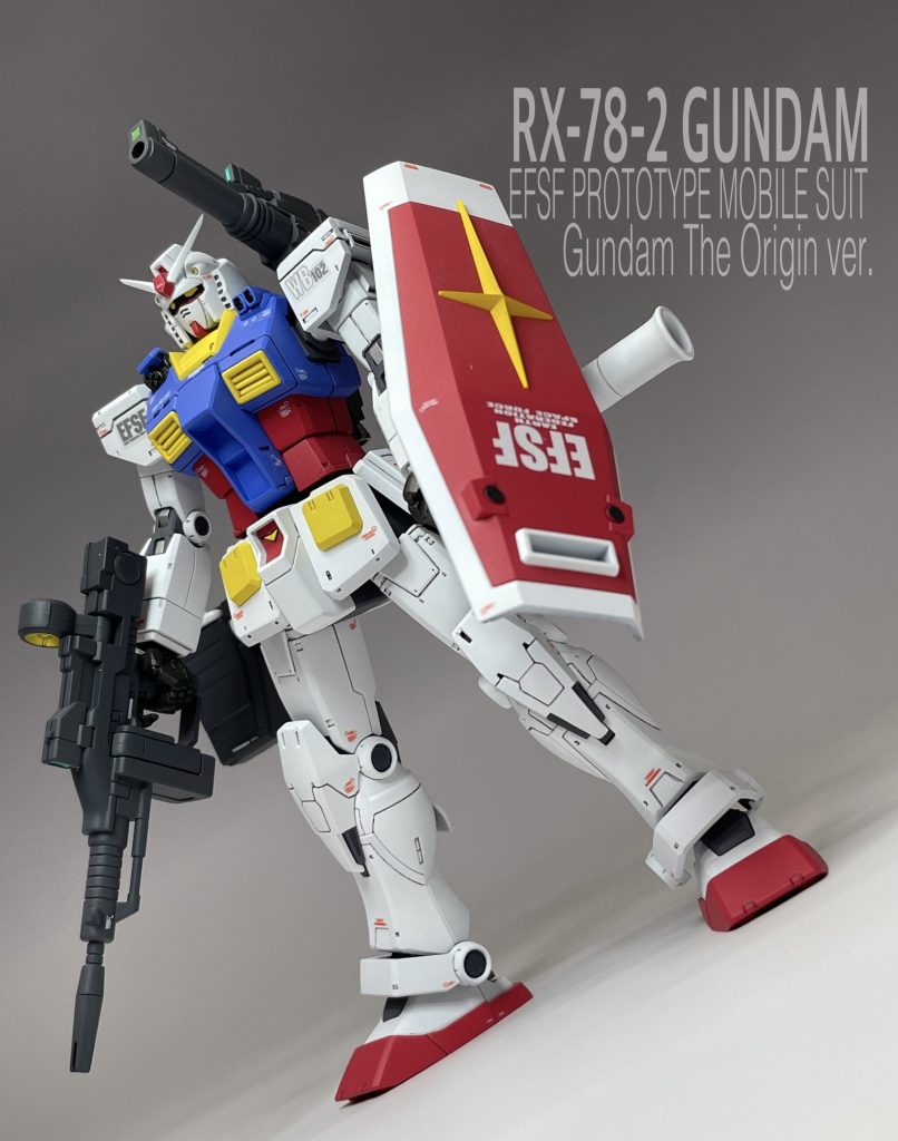 HG RX-78-2 GUNDAM the Origin