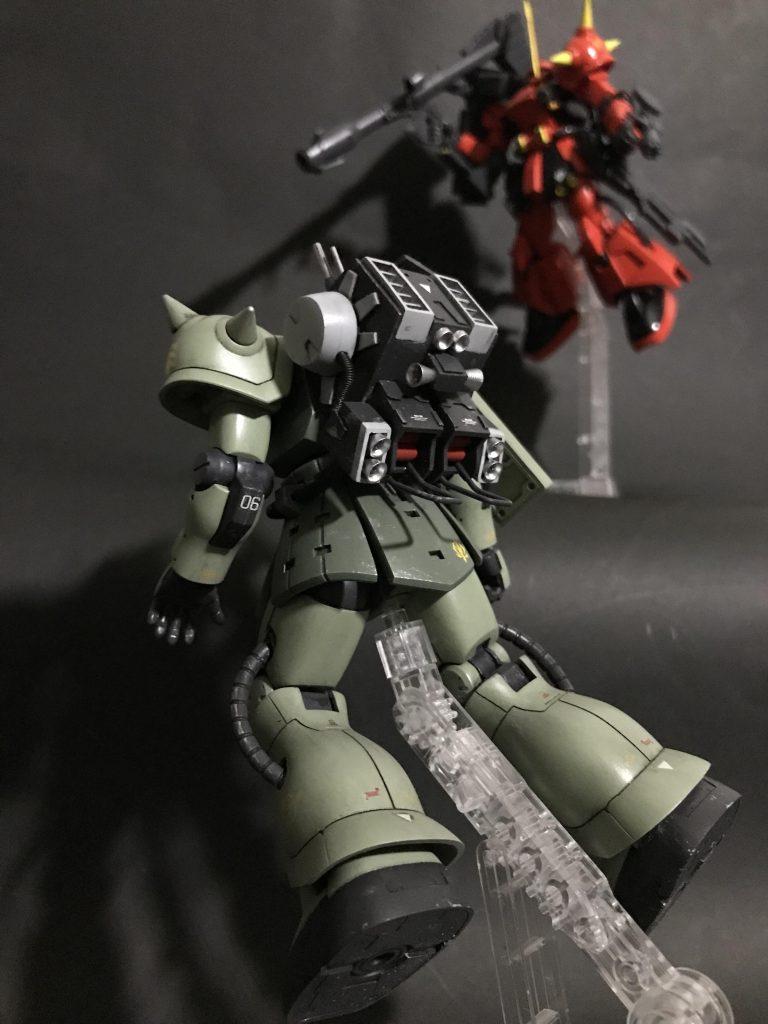 HGUC MS-06F ザクマインレイヤー