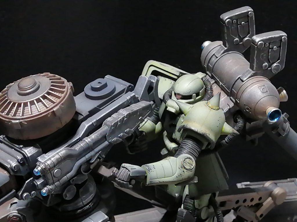 HG 量産型ザク+ビッグ・ガン(GUNDAM THUNDERBOLT Ver.)