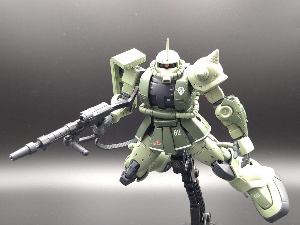 HGUCザクⅡC-6型完成