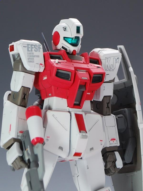 RGM-79GS'GM COMMAND SPACE'  EFSF MASS PRODUCTIVE MOBILE SUITS