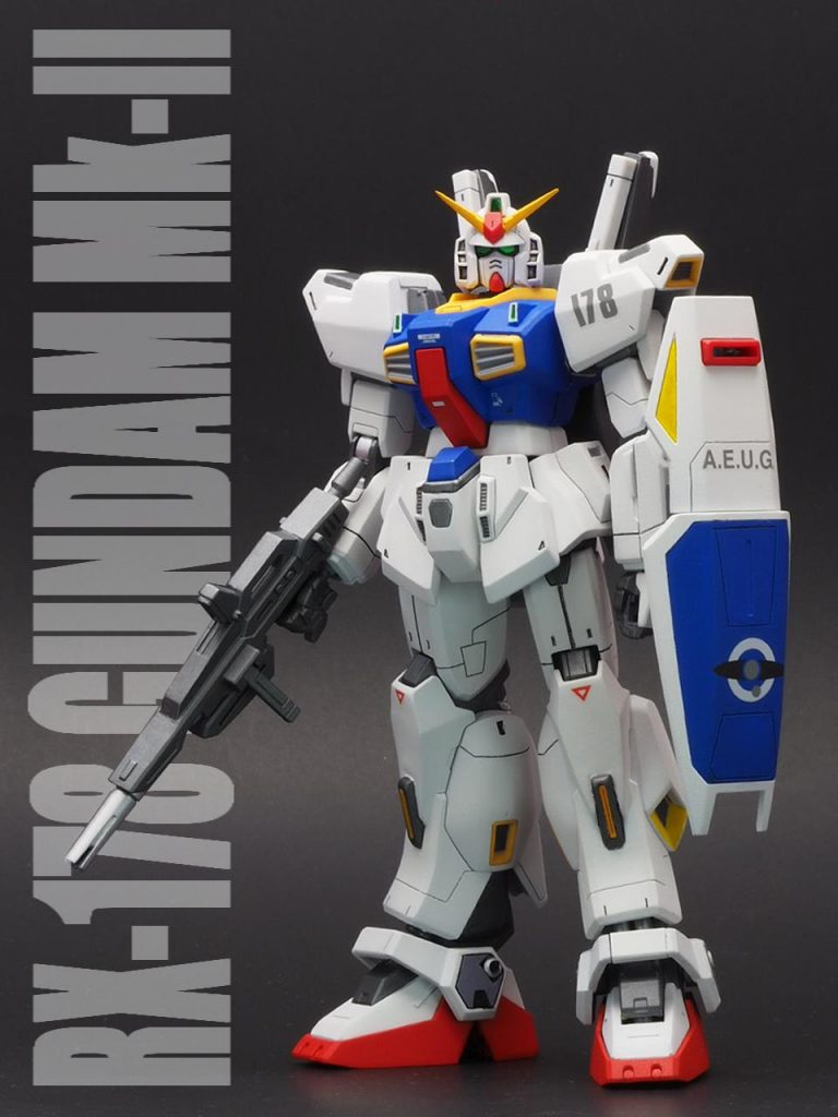 HGUC RX-178 ガンダムMk-Ⅱ(From 1990.07)