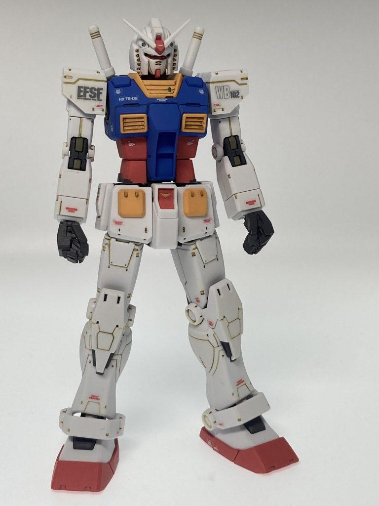 HG 1/144 RX-78-02 ガンダム(THE ORIGIN版)